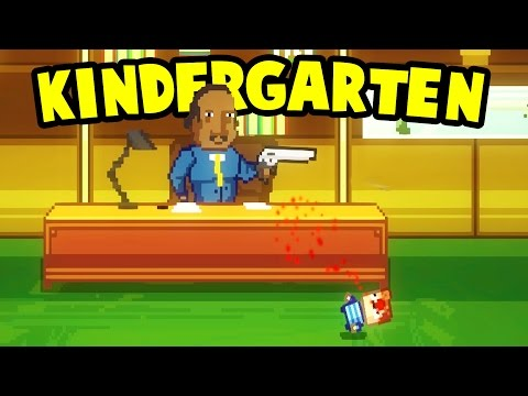 Kindergarten - Quests, Monstermon Cards, Funny Moments! - GrayStillPlays