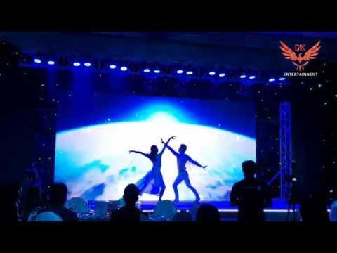 Múa tương tác màn hình led –  Vũ đoàn DK ( DK Entertainment )