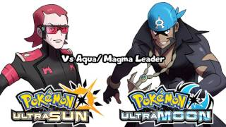 Pokémon Ultra Sun & Ultra Moon - Team Magma & Aqua Leader Battle Theme (Unofficial)