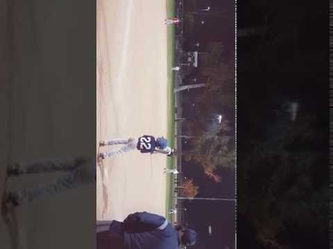 Angel Mejia 9U triple to center
