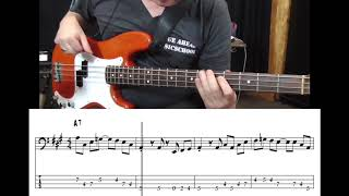 Blues Workshop 2017 - Rhumba Blues with bass tabs