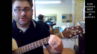 """How to play """"The Most Beautiful Girl"""" by Charlie Rich on acoustic guitar"""