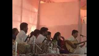 """Ya Devi Sarva Bhuteshu"" sung at the Art of Living  Mumbai Navratri Utsav 2013"
