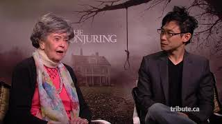 Lorraine Warren+James Wan   The Conjuring Interview 2014