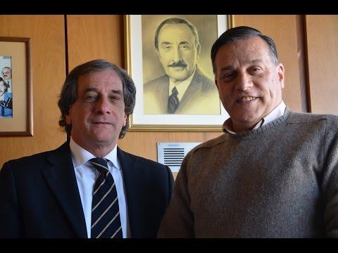 Leonardo Galante con el Diputado Carlos Varela