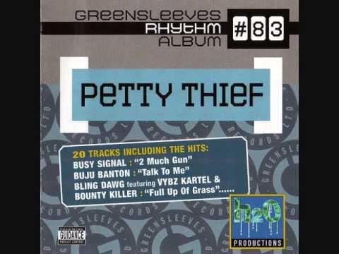 83 petty thief riddim cd 20