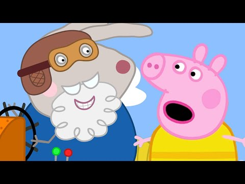 Peppa Pig Full Episodes Grampy Rabbits Hovercraft Cartoons for Children