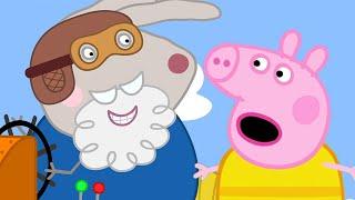 Peppa Pig Full Episodes | Grampy Rabbit's Hovercraft | Cartoons for Children
