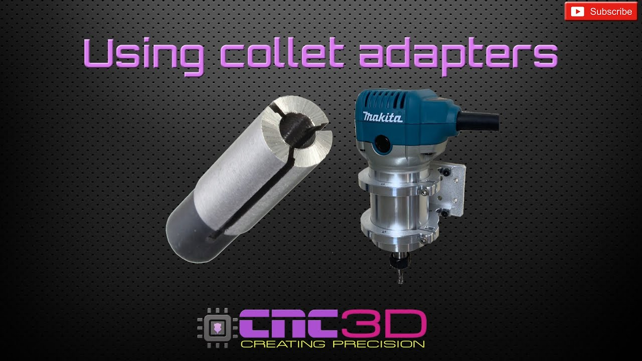CNC How-to: Using router collet adapters