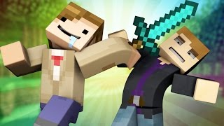 "♫ ""Team Up With You"" - Minecraft Parody of Carly Rae Jepsen - I Really Like You"