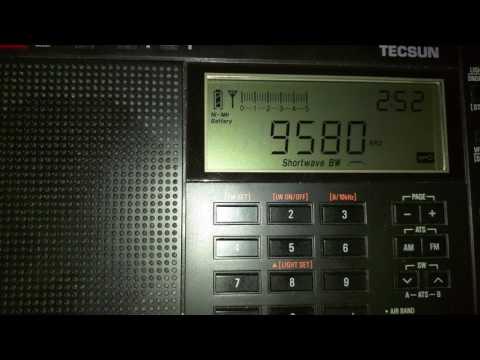 CHINA RADIO INTERNATIONAL - Chinese - 9580 KHZ - 02:51 UTC