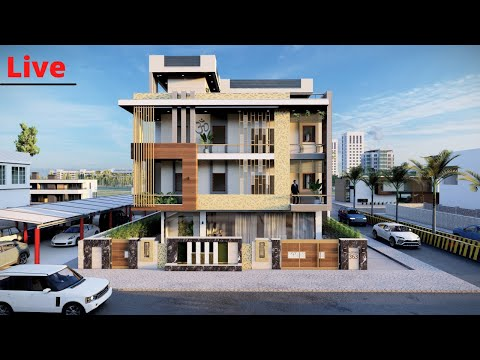 Luxury house tour | 49'x82' Building with Complete Working Drawing