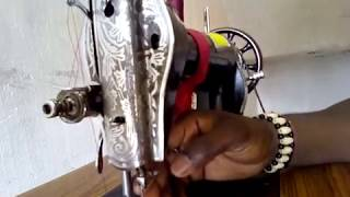 sewing machine parts name and work