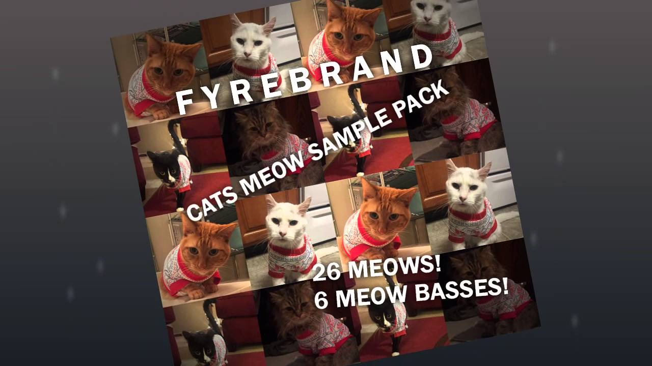 Fyrebrand's Cats Meow Sample Pack! Free Download! - YouTube