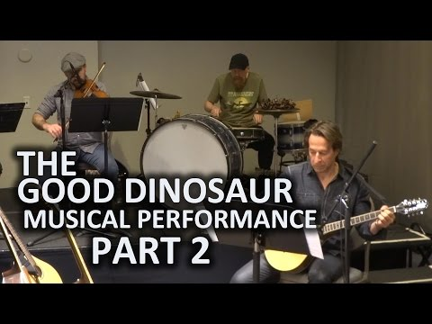 "PART 2 - ""The Good Dinosaur"" musical performance by Mychael and Jeff Danna in Beverly Hills"