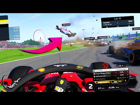 F1 2020 Dirty Drivers - You Laugh You Lose!