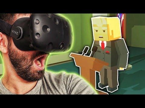 Just In Time #1 - Uratowałem prezydenta! HTC VIVE VR