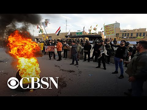 Embassy unrest in Iraq highlights escalating U.S.-Iran tensions