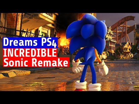 Dreams PS4 - INSANE! This Sonic Remake will BLOW you away
