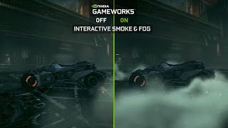Batman: Arkham Knight NVIDIA GameWorks Batmobile Video