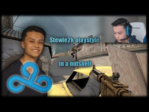 Stewie2k playstyle in a nutshell : GlobalOffensive