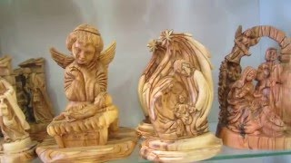 Bethlehem Nativity Souvenirs - Olive Wood Gifts From Bethlehem