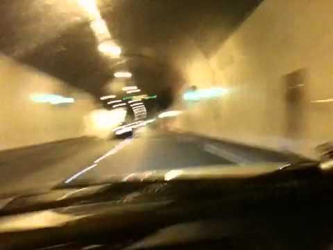 Supra Skyline Ireland road trip Dublin tunnel