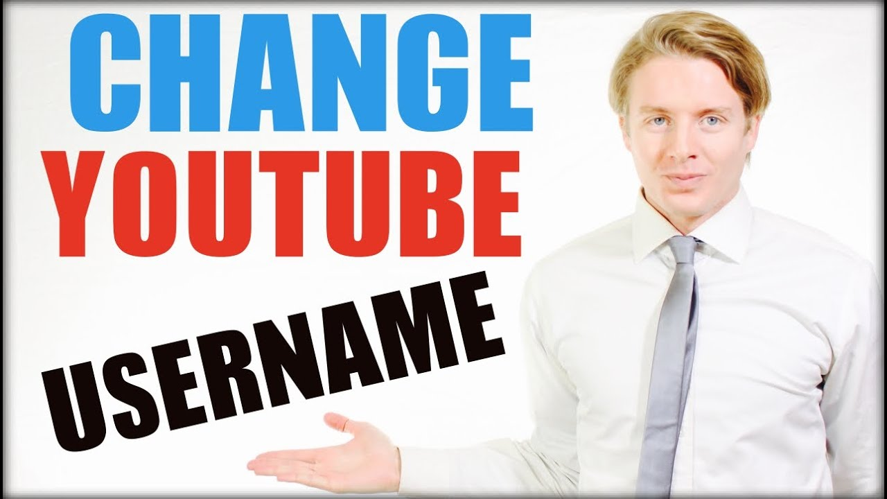 how to change youtube username on phone
