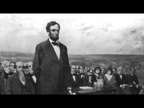 Gettysburg Address read by Wink Martindale