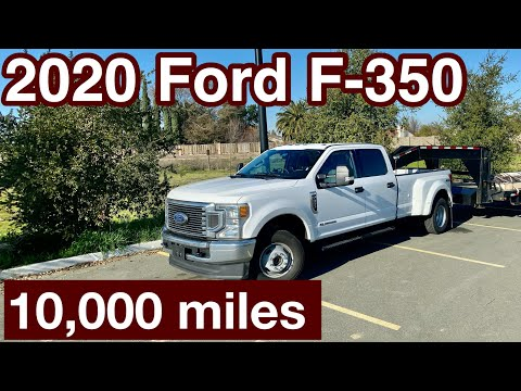 2020 FORD F350 10,000 mile REVIEW