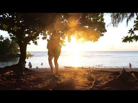Ke'e Beach sunset - Kauai