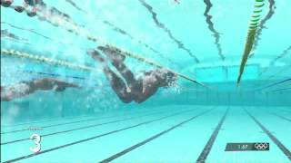 Men's 50m Freestyle | London 2012:The Olympic Games | XBOX 360 | Hard