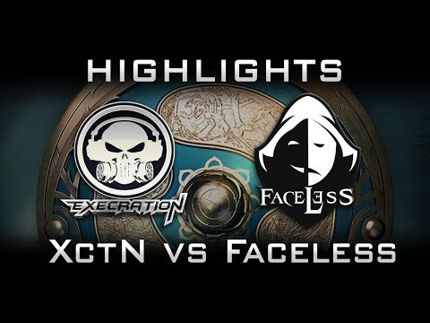Faceless vs XctN Elimination TI7 The International 2017 SEA Highlights Dota 2