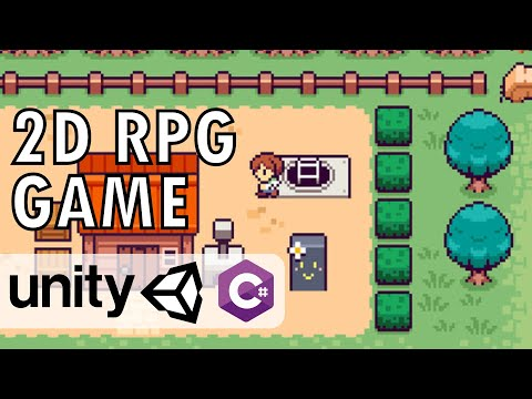 2D RPG Game Unity Tutorial - Create A 2D RPG Game In 3 Hours