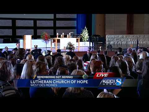 Complete Coverage: Funeral services for Sgt. Tony Beminio