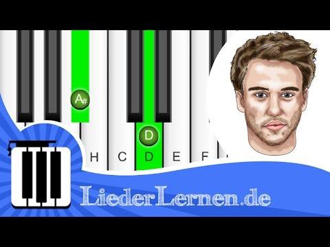 Clueso ft  Kat Frankie - Wenn Du Liebst - Klavier lernen - Musiknoten - Akkorde
