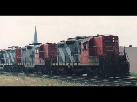 CN In Southwestern Ontario In The 1990's - Volume 1