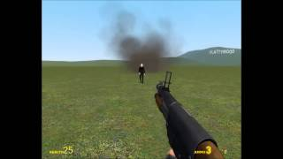 Noobs guide: How to kill the slenderman (Garrys mod)