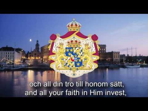 Royal Anthem of Sweden  Kungssången The King Song