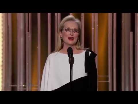 Meryl Streep Presenting Motion Picture, Drama - Golden Globes 2015