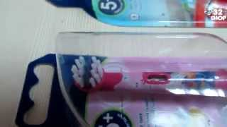 Видео-обзор: Детская электрическая зубная щетка Braun Oral-B Stages Power 5(Видео-обзор: Детская электрическая зубная щетка Braun Oral-B Stages Power 5 Ссылка: http://32shop.com.ua/detskie-elektricheskie-szetki/detskaya-elekt..., 2014-07-03T09:35:49.000Z)