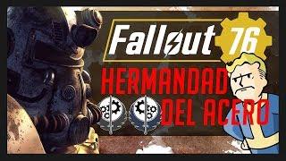 Hermandad del Acero en Fallout 76... ¿Bethesda destruyendo el Lore?