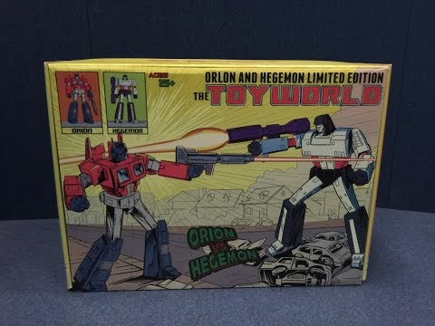 ToyWorld - Exclusive ORION and HEGEMON Comic Version Set