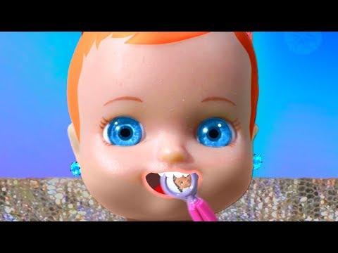 Видео: К куколке пришел гость! Люси Шоу