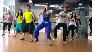 Repeat youtube video Zumba-Sexy Bam Bam by Honduras Dance Crew