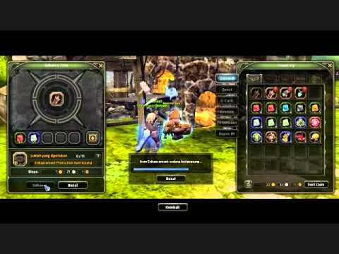 [B] Dragon Nest Indonesia - Tips Menempa (EPIC equip).wmv