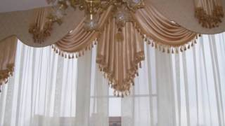 Дизайн штор для зала тренды 2016 года