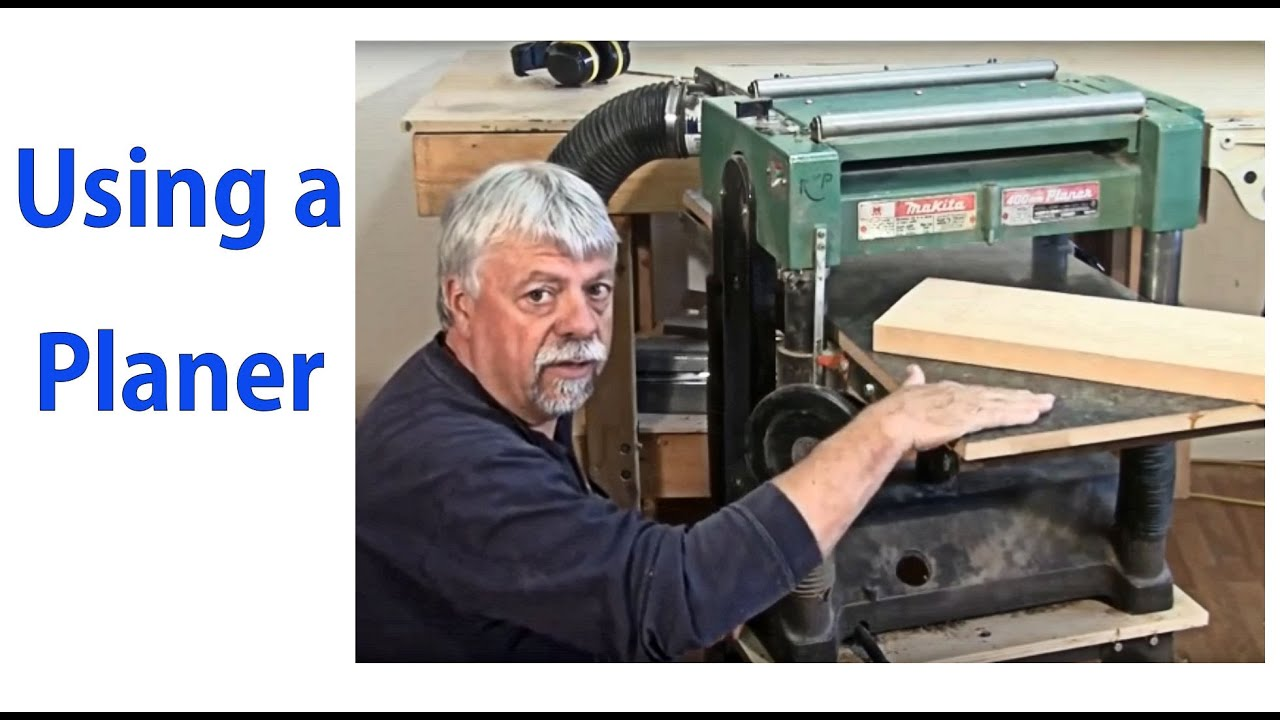 How to use a wood planer beginnners 8 woodworkweb for Planer com