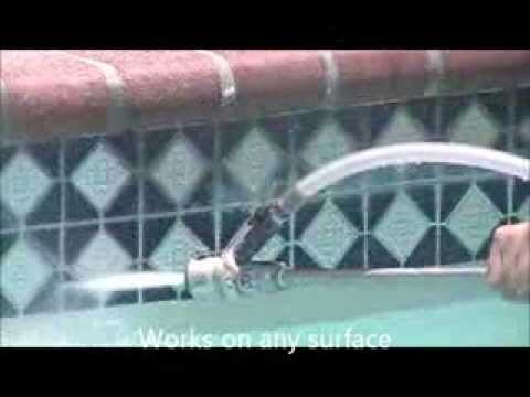 Maxxstrip Pool Tile Cleaning Youtube