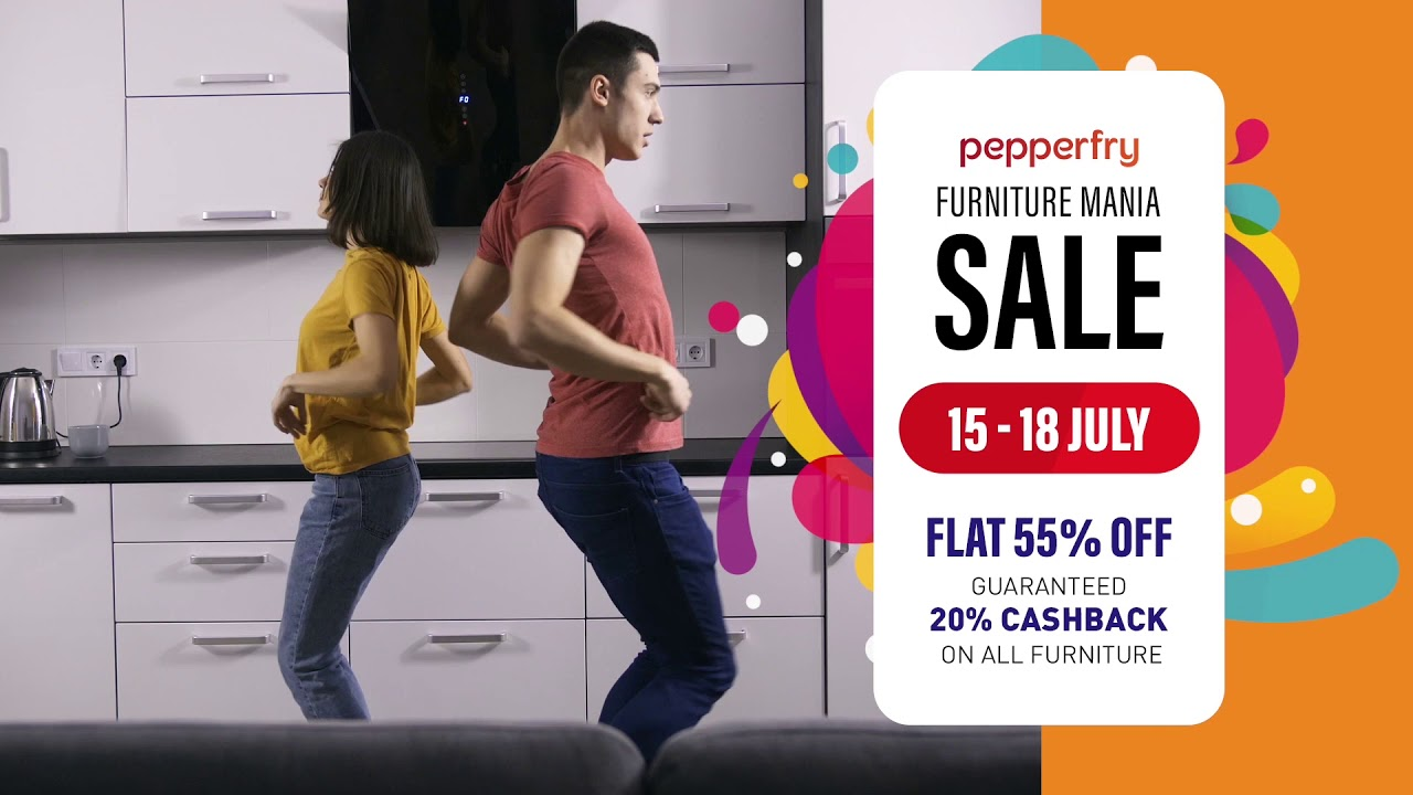 Pepperfry S Furniture Mania Sale Is Here Youtube